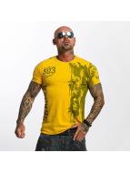 Yakuza T-Shirt Waiting Death jaune