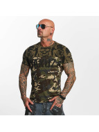 Yakuza T-shirt SICK n FxCK kamouflage