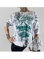 Yakuza T-Shirt manches longues L.A. Skull blanc