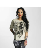 Yakuza T-Shirt manches longues Taste and Feel blanc