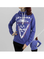 Yakuza T-Shirt manches longues Happy Hour Shawl bleu