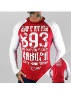 Yakuza T-Shirt manches longues Blow It Out rouge