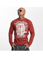 Yakuza T-Shirt manches longues Just Believe rouge