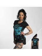 Yakuza T-shirt Butterfly nero