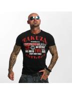 Yakuza T-Shirt Dangerous Place noir