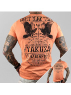 Yakuza T-Shirt Del Rey orange
