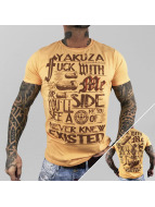 Yakuza T-Shirt Fxck With Me orange