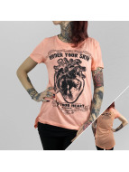 Yakuza T-Shirt Into Your Heart Limpid orange