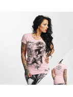 Yakuza t-shirt Taste The Blood pink