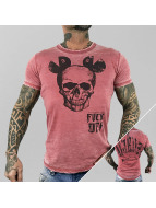 Yakuza T-Shirt FxOff Burnout red