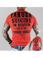 Yakuza t-shirt Suicide In Heaven rood