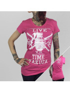Yakuza T-Shirt Live Vs. Time rosa