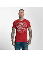 Yakuza Death Will Find You T-Shirt Ribbon Red