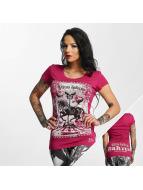 Yakuza T-Shirt Circus Inferno rouge