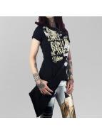 Yakuza T-Shirt Se Asoma Wrap schwarz