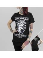 Yakuza T-Shirt Into Your Heart Limpid schwarz