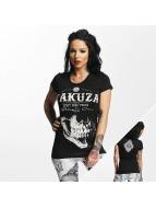 Yakuza T-Shirt Daily Skull schwarz