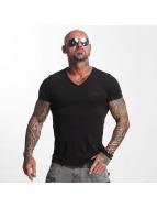 Yakuza T-Shirt Basic Line V-Neck schwarz
