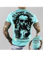 Yakuza t-shirt Flying High turquois