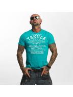 Yakuza t-shirt Farther turquois