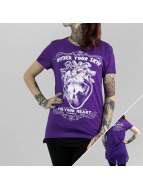 Yakuza T-Shirt Into Your Heart Limpid violet