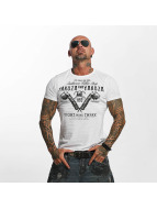 Yakuza T-shirt Tattoo Shop vit