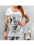 Yakuza T-Shirt Joker Slim Fit weiß
