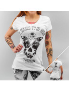 Yakuza T-Shirt Scared to go home weiß