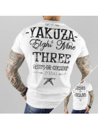 Yakuza T-Shirt Jesus Or Cocaine weiß