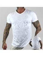 Yakuza T-Shirt Respuesta V-Neck white