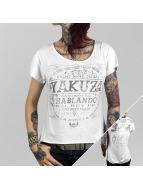 Yakuza t-shirt Del Rey wit