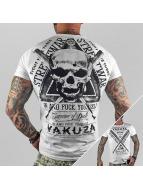 Yakuza t-shirt Streetwar wit