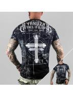 Yakuza t-shirt Inked In Dark Blood zwart