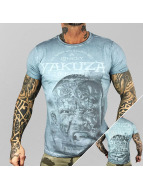 Yakuza T-shirtar Lonely Hunter blå
