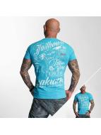 Yakuza T-shirtar Jailhouse blå