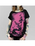 Yakuza T-shirtar Spirit Wide Crew svart