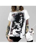 Yakuza T-Shirts Spirit Wide Crew beyaz