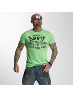Yakuza T-shirts Violent Society grøn