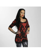 Yakuza T-Shirty Mexican Rose Hooded czarny