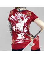 Yakuza T-Shirty An Angels czerwony