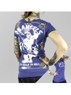 Yakuza T-Shirty An Angels niebieski