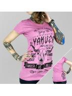 Yakuza T-Shirty Legends rózowy
