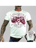 Yakuza T-Shirty Kill Me turkusowy