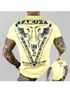Yakuza T-Shirty Happy Hour zólty