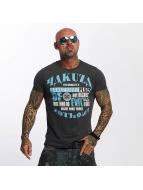 Yakuza T-skjorter Dangerous Place grå