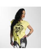 Yakuza T-skjorter Siren Knot gul