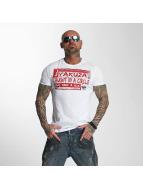 Yakuza T-skjorter Take A Seat hvit