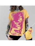 Yakuza T-skjorter Spirit Wide Crew oransje