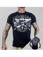 Yakuza T-skjorter Kill Me svart