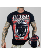 Yakuza T-skjorter Laugh Clown svart